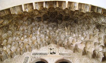 Mocárabes del Corral del Carón (Granada)