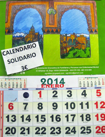 Calendario solidario de Agrafem