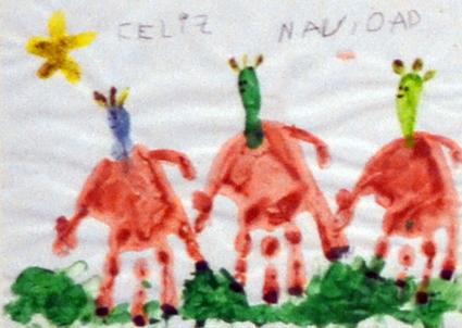 Carla Linde Nieto obtuvo el tercer premio con este dibujo