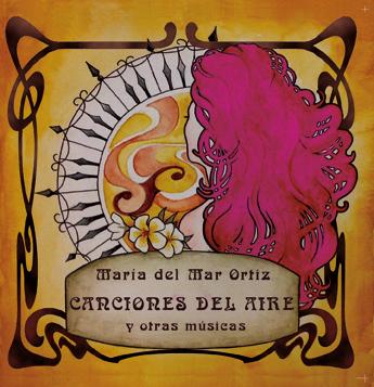 Carátula del disco. Acuarela de Aída Ortiz