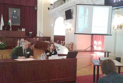 Proyecto INNOCRAFTS. Presentación del Proyecto de la EAG en Budapest