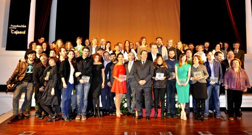 Foto de los premiados en la edición 2014 de los premios ASECAN
