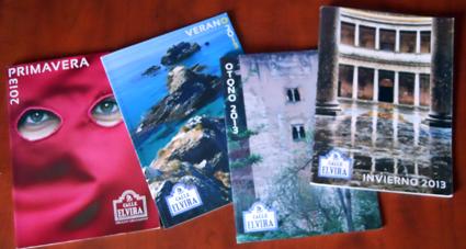 Portadas de los cuatro números publicados bajo la dirección de Rodrigo Gómez