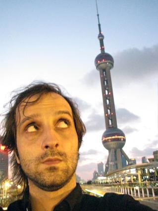 Nacho Toto en Shanghái