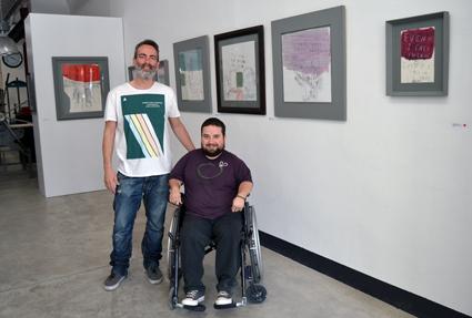 Carlos Orta junto a Emilio Luis Fernández