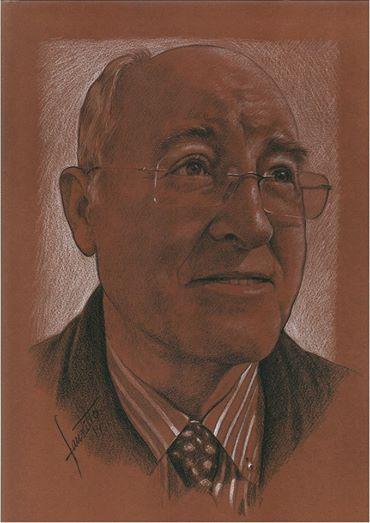 Juan Santaella dibujado por Faustillo