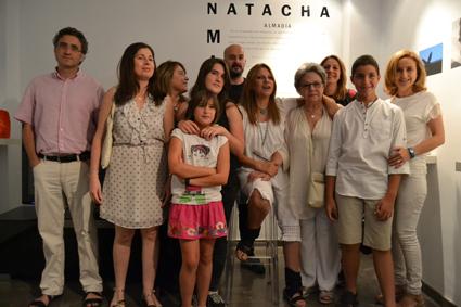 Familiares y amigos de Natacha Marlo