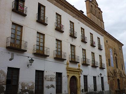 Fachada del antiguo seminario de Guadix