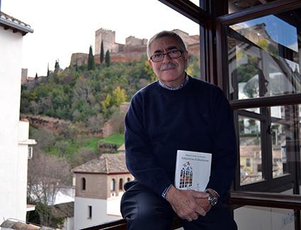 Miguel Arnas en el torreón del Palacio de los Olvidados /A.A.