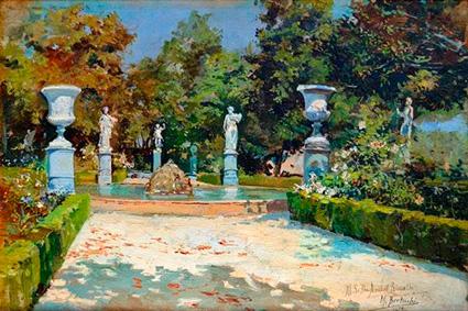 'Jardín del Carmen de los Mártires' (1898) M. Bertuchi