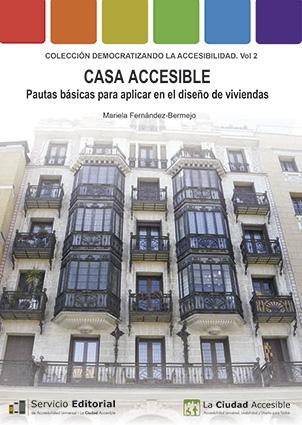Portada del libro 'Casa Accesible. Pautas básicas para aplicar en el diseño de viviendas'