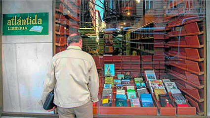 También la librería Atlántida ha echado la persiana en marzo /RAMON L. PÉREZ