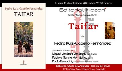 pedro Invitacion-presentacion-Taifar