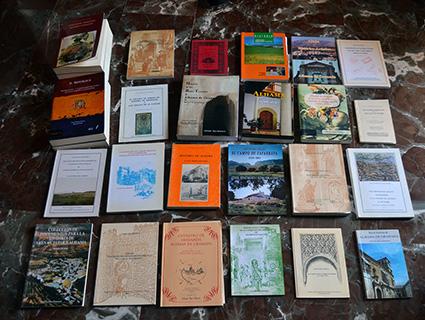 Obras de Salvador Raya dedicadas a Alhama de Granada y su comarca