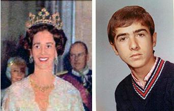 Fabiola y Antonio Luis en los años 60