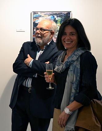 Gracia Velasco y Juan Vellido, en Millenium Gallery