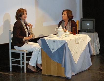 Rosa y Mila en 'Té para dos'