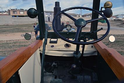 Angel-Prieto-tractor-Lanz-Bulldog-de-1958 2-cabina