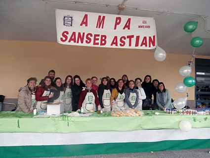 gabia-DESAYUNO ANDALUZ AMPA SAN SEBASTIAN