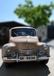 Frontal del Renault 4/4  FOTO: A. ARENAS