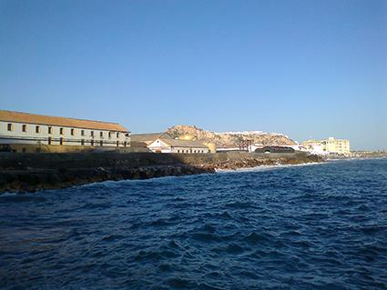 Vista de la Caleta desde el mar/ CORBATILLAS