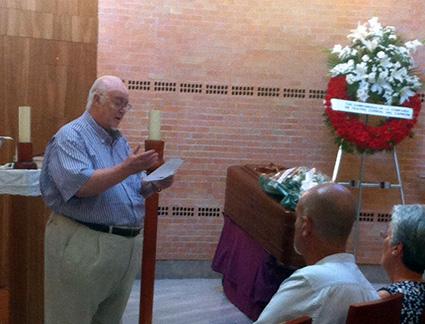 Paco de Paula lee un fragmento de 'El teatrito de don Ramón' /C. RIVAS