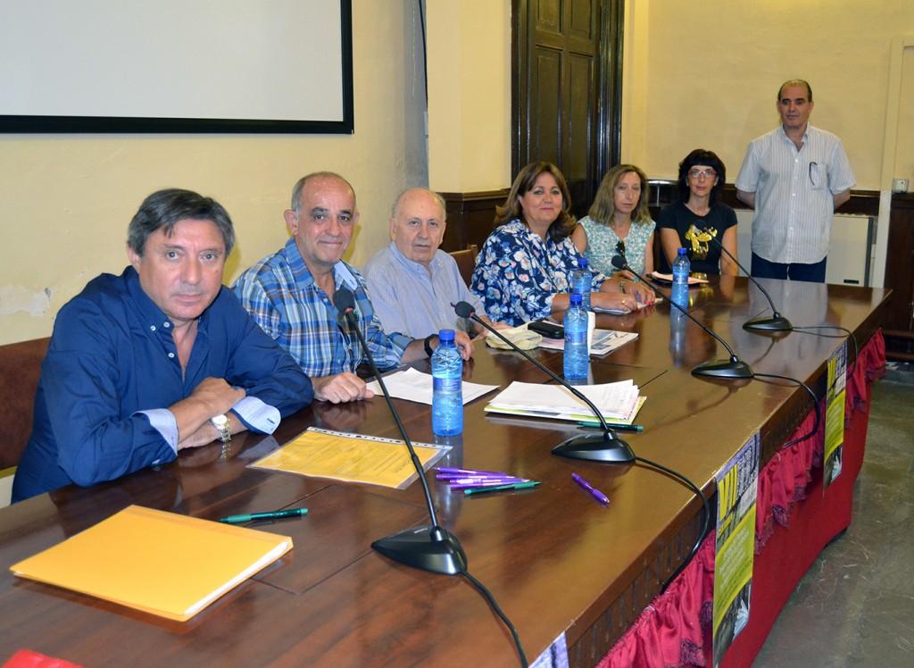 Jurado del VII certamen de Relatos Cortos Carcelarios 'Conrada Muñoz' FOTO: A. ARENAS