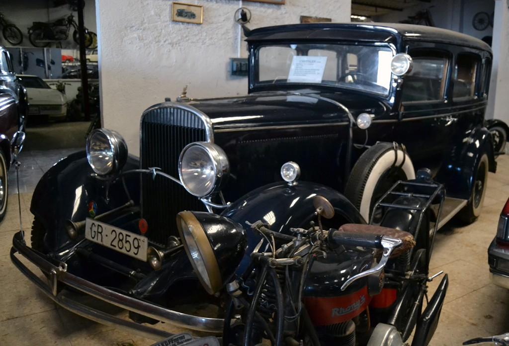 Uno de los vehículos del Automuseo/ A. ARENAS