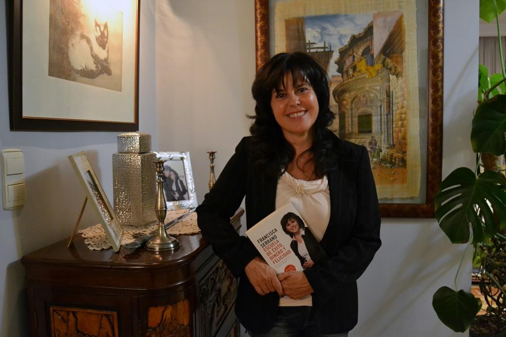 Francisca Serrano, autora de 'Escuela de éxito, dinero y felicidad' (Espasa)/ A. ARENAS