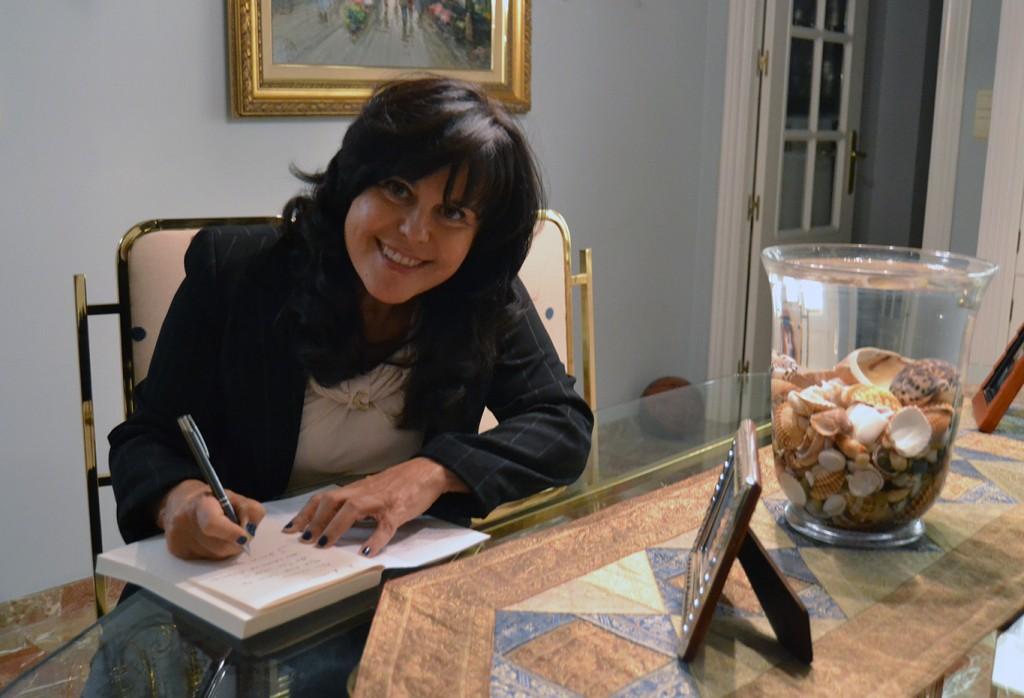 Francisca Serrano, autora de 'Escuela de éxito, dinero y felicidad' (Espasa) 11/10/2016 FOTO: ANTONIO ARENAS