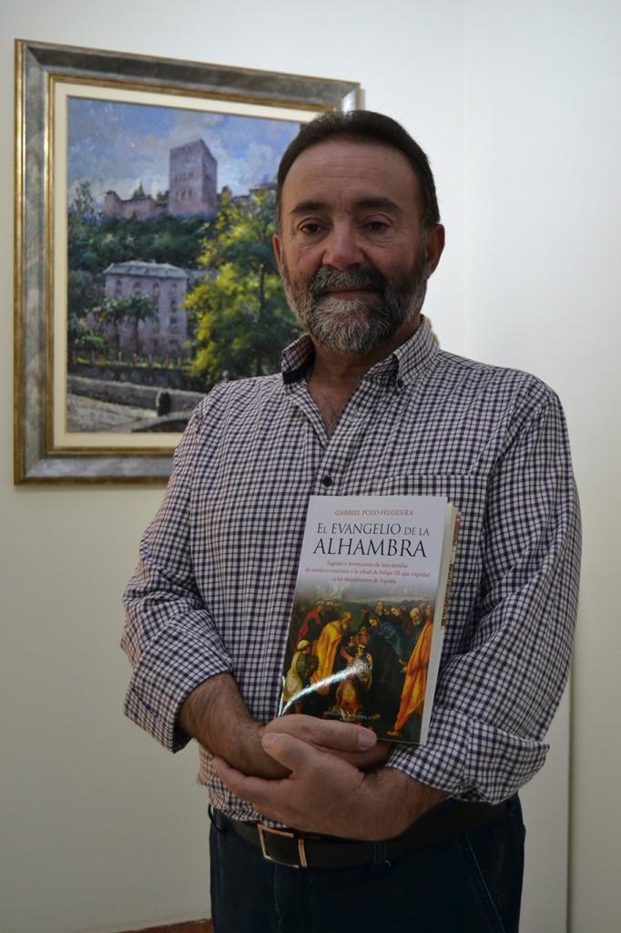 Gabriel Pozo, autor de 'El Evangelio de la Alhambra'https://static-ms.ideal.es/ A. ARENAS