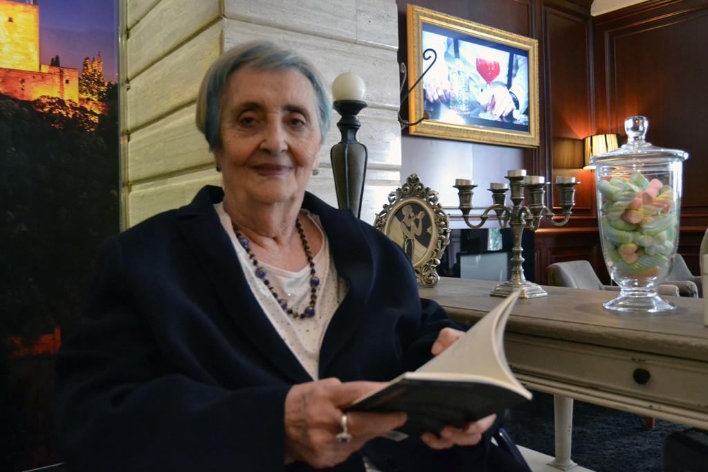 Mariluz Escribano, autora de 'El corazón de la gacela' / A. ARENAS