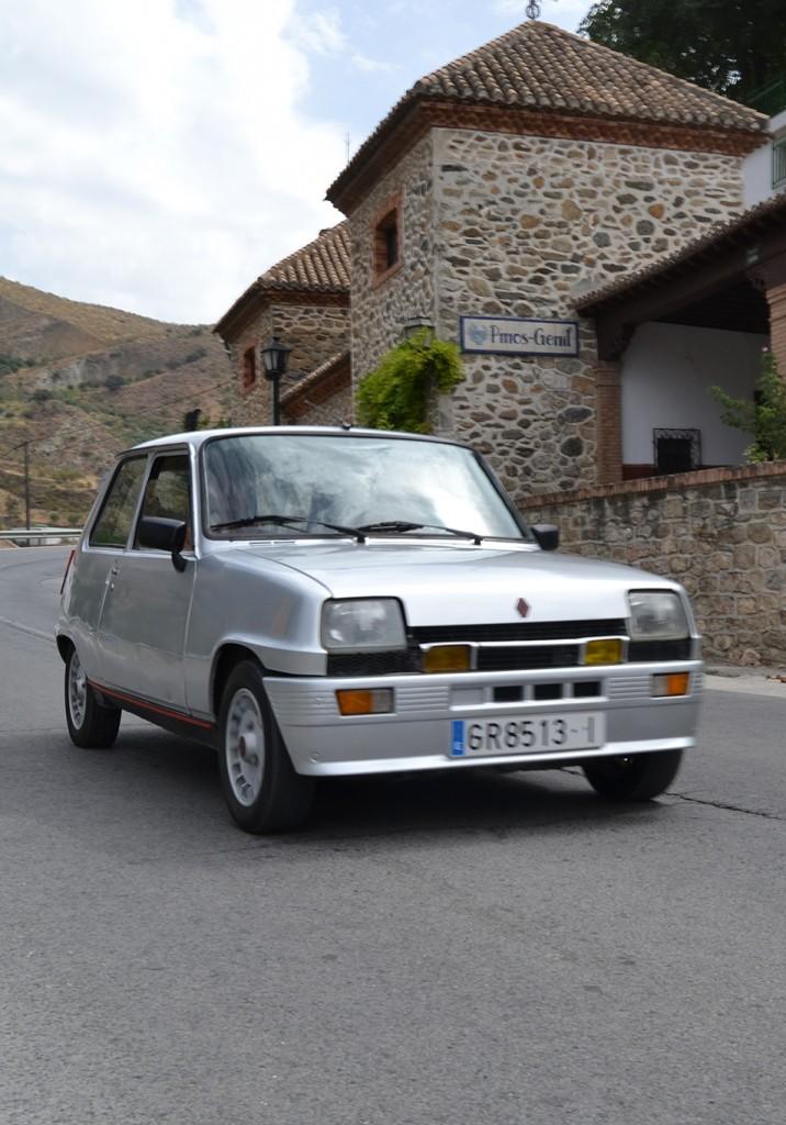 Paco Martín y su Renault 5 de 1981 03/09/2016 FOTO: ANTONIO ARENAS