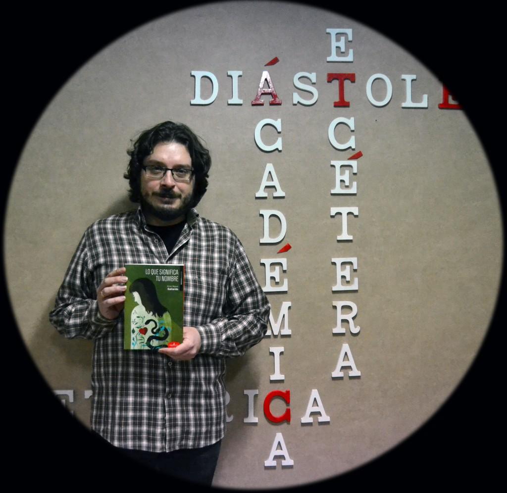 Víctor Miguel Gallardo ha publicado cinco libros, cuatro de ellos de narrativa corta /A. ARENAS