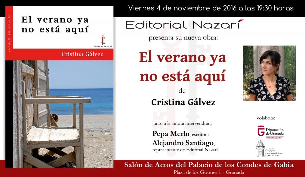 El verano ya no está aquí - invitación Granada 04-11-2016