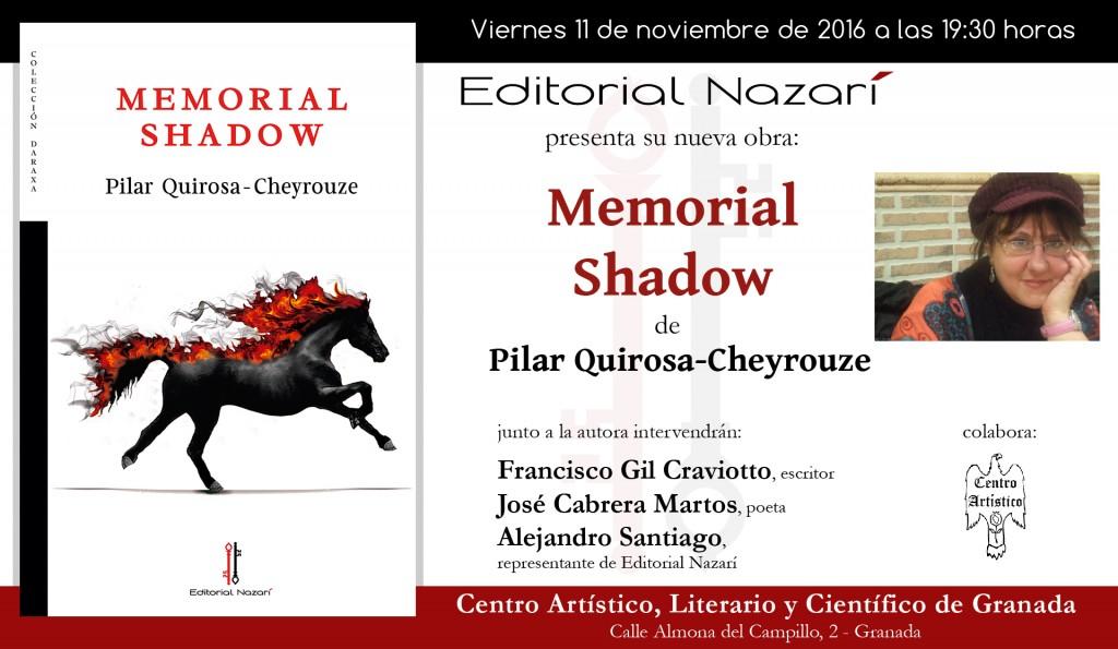Memorial Shadow - invitación Granada 11-11-2016