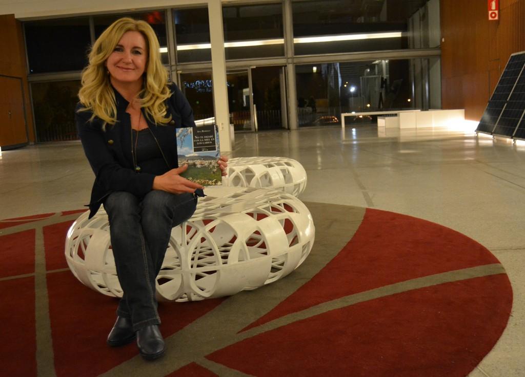 Ana Rosillo, autora de 'No te dejaré con la miel en los labios' (Oro Libro) 31/10/2016 FOTO: ANTONIO ARENAS