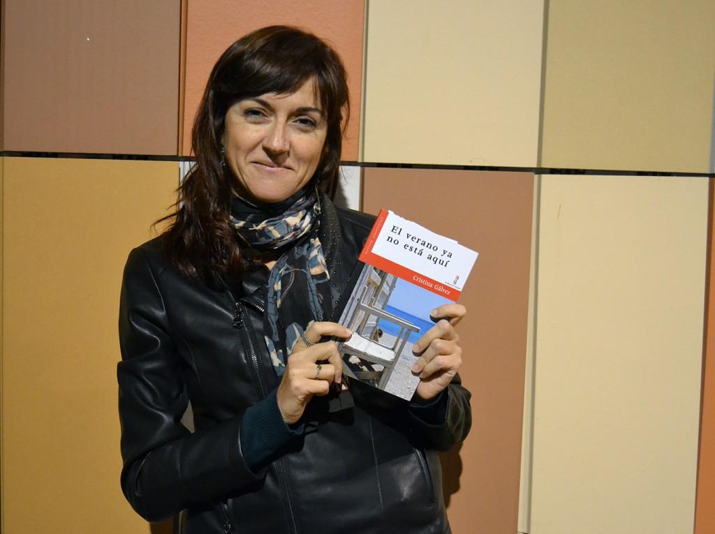 Cristina Gálvez, autora de 'El verano ya no está aquí' (Nazarí) 02/11/2016 FOTO: ANTONIO ARENAS
