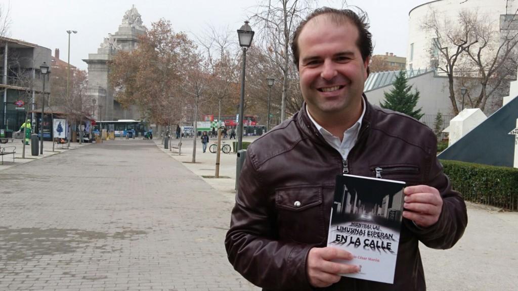 Antonio César Morón en Puerta de Toledo (Campus UC3M)FOTO: JESSICA SERNA