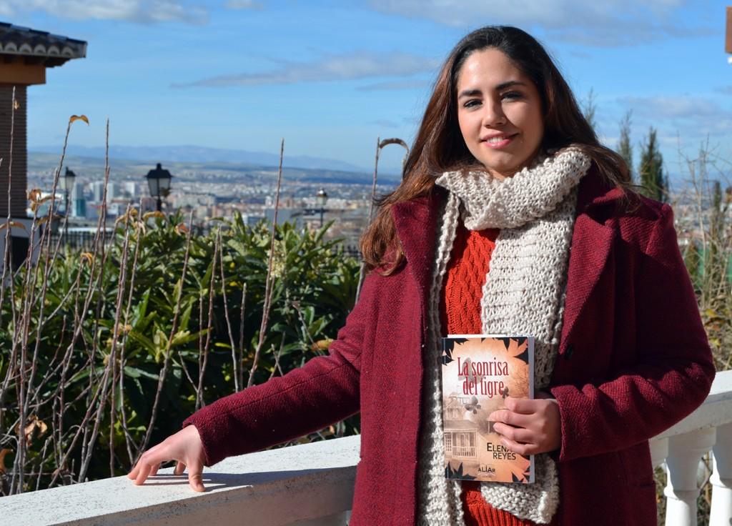 Elena Reyes autora de la novela 'La sonrisa del tigre' (Aliar Ed.) 11/01/2017 FOTO: ANTONIO ARENAS