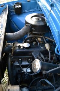 Motor del Renault 8/A.A.