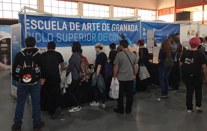 La Escuela de Arte de Granada, formación oficial y de calidad para las personas con inquietudes artísticas