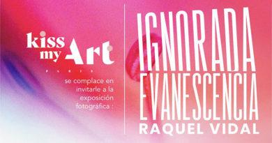 Raquel Vidal expone en Granada, 'Ignorada evanescencia'