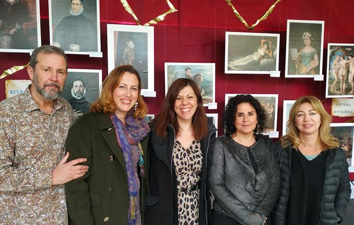Inaugurada la exposición 'El Museo del Prado en el IES La Madraza'