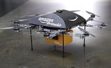 Amazon realiza su primera entrega de paquetes usando un dron