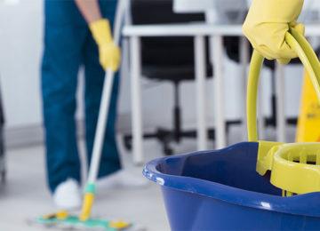 Limpieza de oficinas: Productos y materiales necesarios