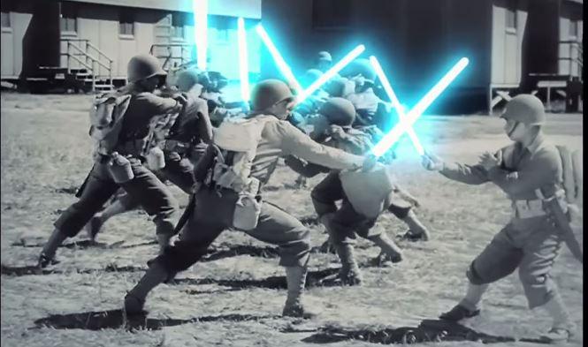 La II Guerra Mundial, versión Star Wars